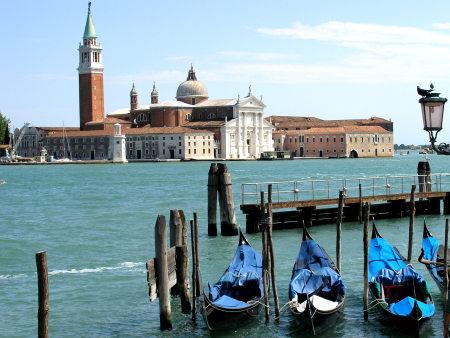 Venecia y sus gondolas